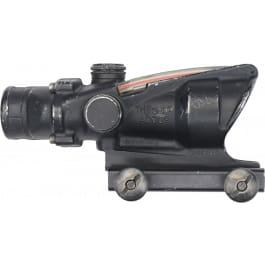Trijicon ACOG RCO 4X32 Rifle Scope - Red Tritium Chevron Reticle - Military Surplus - Various Condition Codes