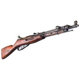 Russian M44 Mosin Nagant Rifle, 7.62x54R Caliber, - C & R Eligible Good/Very Good