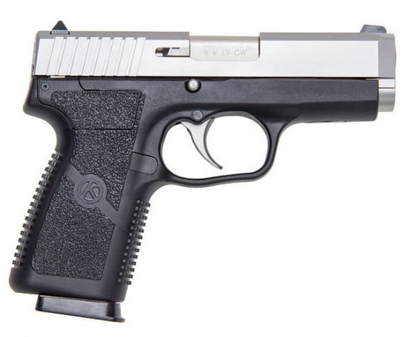 """Kahr Arms CW9 9mm Pistol, 3.5"""" Matte Stainless Steel Black Polymer Magazine - CW9093"""