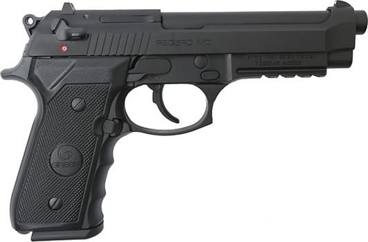 EAA Girsan Regard 92, 9mm Pistol - Adj Sights, 18 + 1,  Black - Semi-Auto - Model # 390080