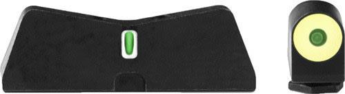XS Sights GL-0009S-5Y DXT2 Big Dot Glock 17/19 YLW