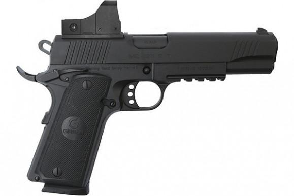 MKE Firearms 390061 MC1911S Government ADJ. SGT w/OPTIC Black