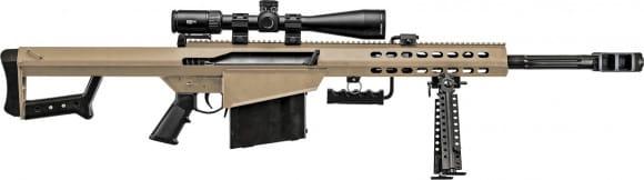 Barrett 18601 82A1 w/ Vortex PST 5-25X50