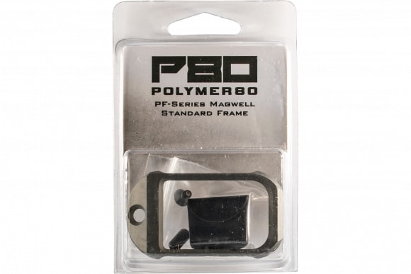 Polymer80 P80CPMWSGRY PF-Series Magwell Glock 17 6061-T6 Aluminum Gray Hardcoat Anodized
