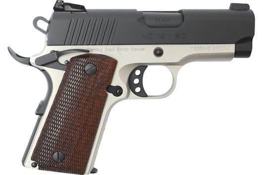 MKE Firearms 390042 MC1911SC Officer ADJ. Sights TWO-TONE