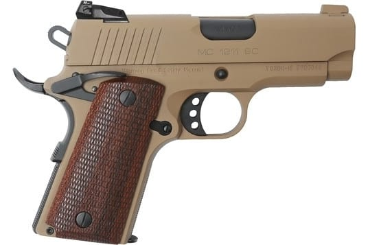 MKE Firearms 390044 MC1911SC Officer ADJ. Sights FDE
