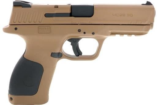 MKE Firearms 390110 MC28SA ADJ. SGT15rdFDE Polymer