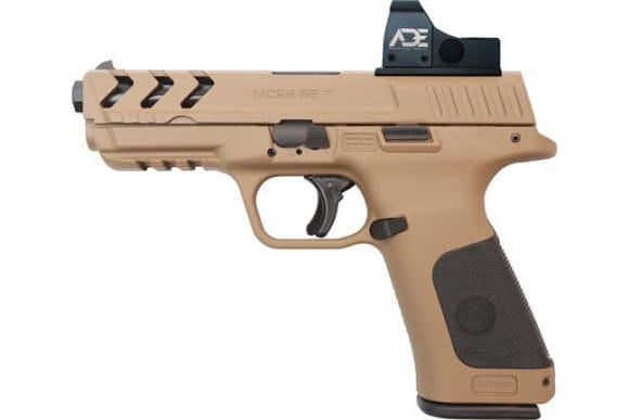 MKE Firearms 390140 MC28SA ADJ. SGT w/OPTIC15rdFDE Polymer