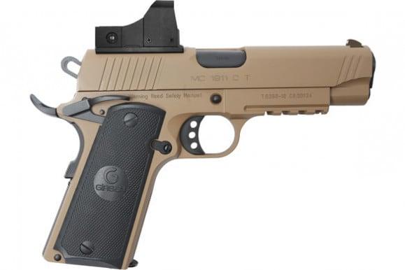MKE Firearms 390055 MC1911C Commander ADJ. SGT w/OPTIC FDE