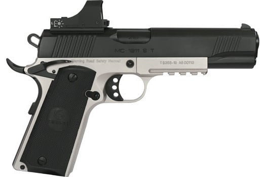 MKE Firearms 390063 MC1911S Government ADJ. SGT w/OPTIC 2-TONE