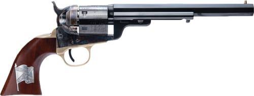 "Cimarron CA925M16 1851 R-M CSA Flag .38 SPL 7.5"" FS CC/BLUED Walnut Revolver"
