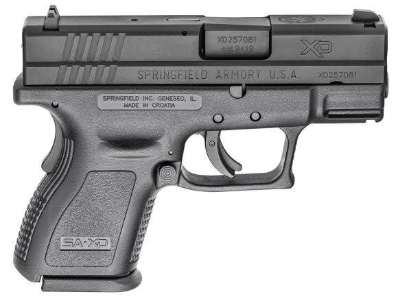 """Springfield XDD9801HC Defender 3"""" SC 13rd Black"""
