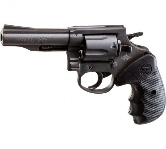 "Rock Island Armory 51261 M200 38 SPL 4"" 6rd REV Black Revolver"