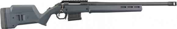 "Ruger 26983 American HNTR 20"" Gray Magpul 5-SH Threaded"