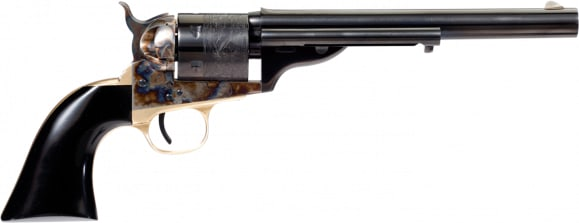 Taylors and Company 0914G09 Open TOP Navy Cavalier 38SP 7.5 Revolver