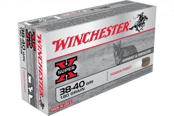 Winchester Ammo X3840 Super-X 38-40 Winchester 180 GR Soft Point - 50rd Box