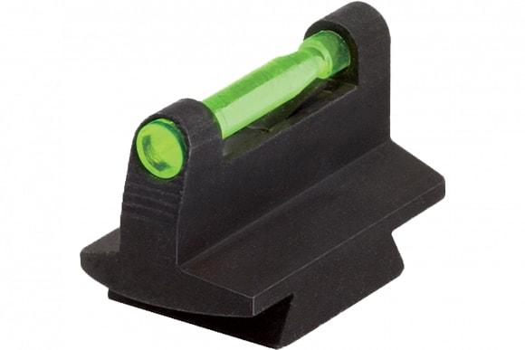 "Hiviz DOVM380 Front Sight Standard 3/8"" Dovetail Rifle/Muzzleloader Fiber Optic Green/Red/White Black .380"" Height"