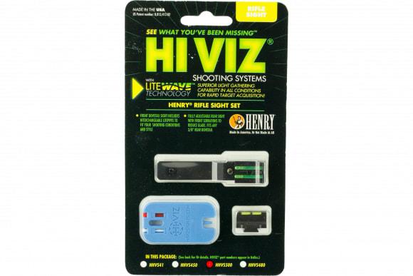 Hiviz HHVS500 LiteWave Henry Frontier Fiber Optic Green Black