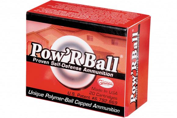 Cor-Bon PB40135 Glaser 40 Smith & Wesson Powrball 135 GR - 20rd Box