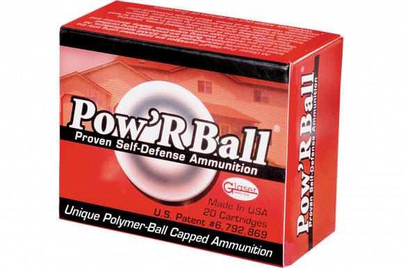 Cor-Bon PB45165 Glaser 45 Automatic Colt Pistol +P Powrball 165 GR 20Case/25Case - 20rd Box