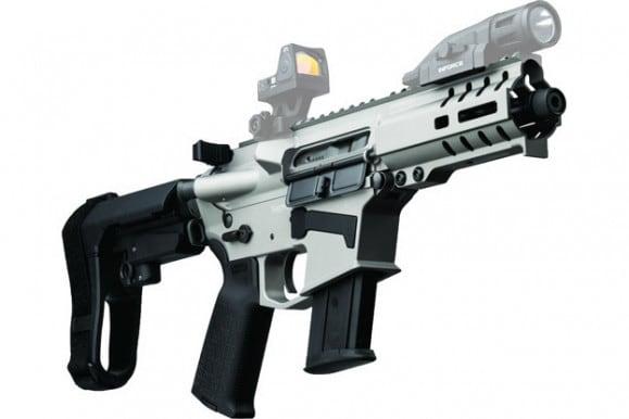 CMMG 45A691CTI Pistol Banshee 300 MKG (GLOCK) 13rd Titanium