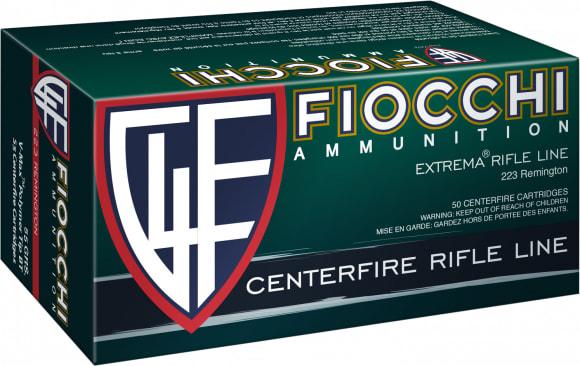 Fiocchi 223HVC50 223 55 Vmax - 50rd Box