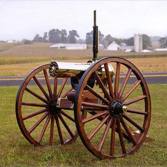 Colt Defense CGG1877HSCM Gatling GUN 1877 HS Bulldog 10 Barrel Carriage