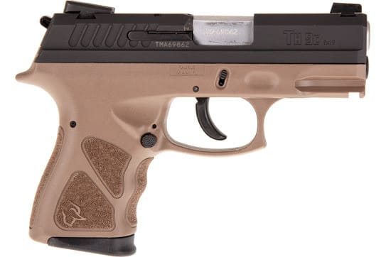 "Taurus 1TH9C031B TH9C 3.54"" ADJ.13rdBLACK/BROWN Polymer"