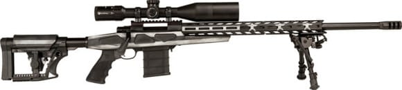 """Legacy Sports HCRA71207USG Howa Flag Chassis Grayscale .22-250 24"""" Threaded"""