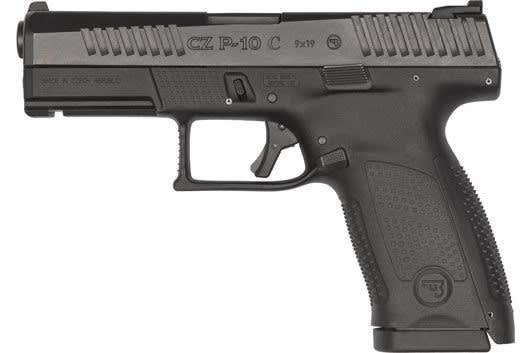 CZ USA 91537 P-10 C FNS15rdBlack Polymer