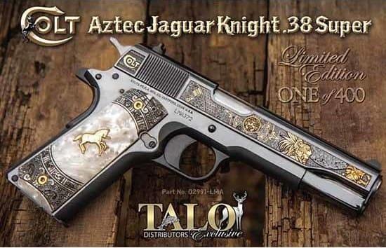Colt Defense O2991LMA Aztec Jaguar Knight .38SUPER 1 OF 400 (TALO)