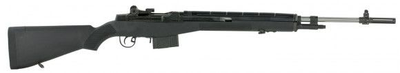"Springfield Armory MA9826 M1A Loaded Semi-Auto .308 22"" 10+1 Black/Stainless Steel"