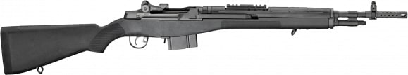 "Springfield Armory AA9126 M1A Scout Squad Semi-Auto .308 18"" 10+1 Black"