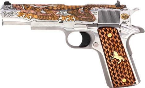 "Colt Defense O2091MEX Dragon .38 Super 5"" Embellishment 1 OF 500 (TALO)"