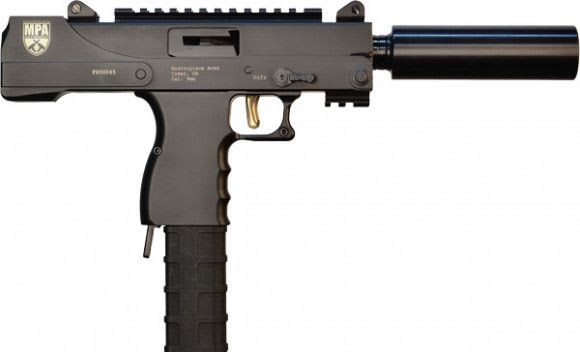 MasterPiece Arms MPA30SST Defender Side 9mm 6 30rd Threaded BBL