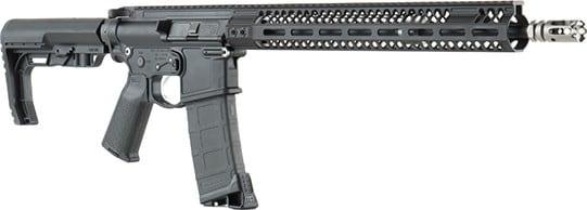 2A Armament CRF16PKM15Black1 Factory 5.56MM 16 Pencil Barrel 15 Keymod