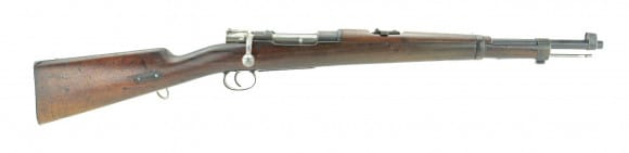 M1895 Chilean Mauser 5 Round Bolt Action 7mm Carbine by Lowe Berlin - Antique - NO FFL REQUIRED