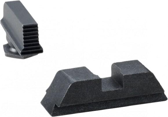 AmeriGlo GL429 Black Sights All Glock Glock (Except 42) Suppressor Height Black Steel
