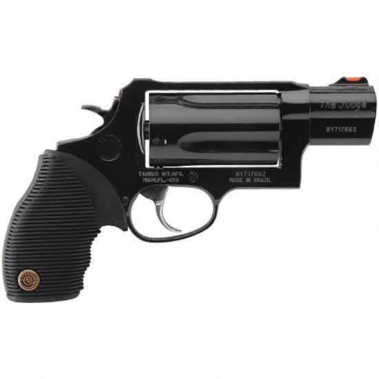 "Taurus 2441031TC Judge Tracker Public Defender 410/45LC 2.5"" 5rd Ribber Grip Blu"