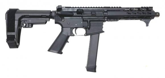 "CBC Industries Complete AR15 Pistol 9x19 7.5"" 1:10 w/ SB Tactical SBA3 Brace"
