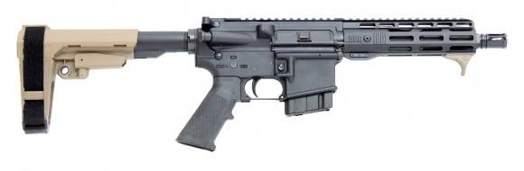 "CBC Industries Complete AR15 Pistol 7.62x39 7.5"" 1:10 w/ SB Tactical SBA3 FDE Brace"
