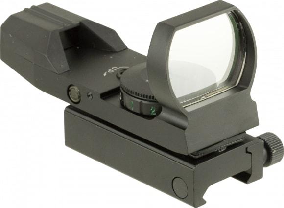 Truglo TG8370B Dual Color 1x 34mm Obj Unlimited Eye Relief 5 MOA Black