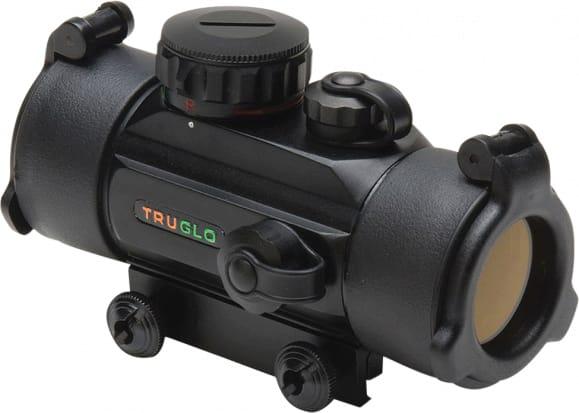 Truglo TG8030B Traditional 1x 30mm Obj Unlimited Eye Relief 5 MOA Black