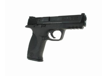 "Smith & Wesson M&P9 9mm Pistol, 4.25"", 17+1, w/Thumb Safety - 206301"