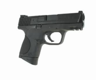"""Smith & Wesson M&P9C 9mm Compact Pistol, 3.5"""", 12+1 - 209304"""