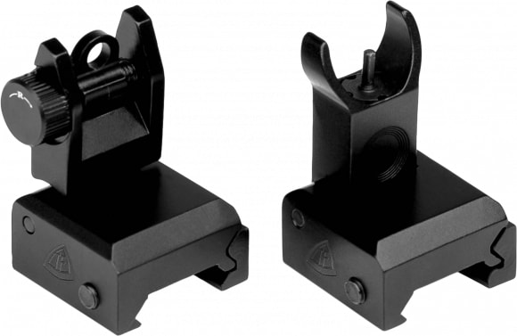 Trinity Force Corp FS72 QF Back Up Sight Set Black