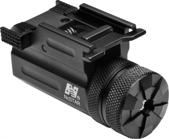 NCStar Aqptlmg Compact Green Laser w/QR Weaver Mount Compact/Subcompact Picatinny