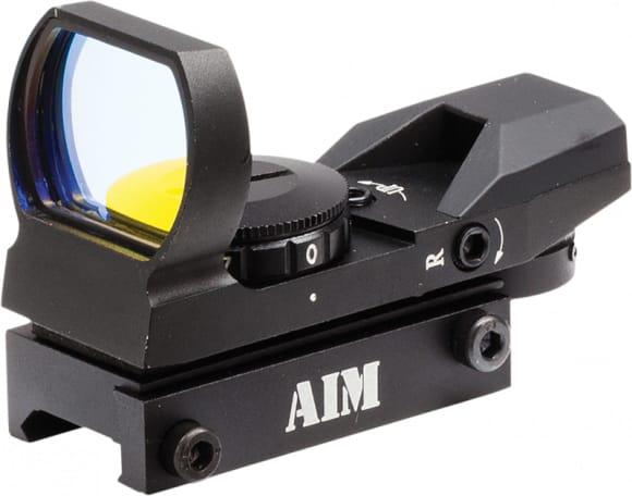 Aim Sports RT401 Reflex 1x 24x34mm Obj Unlimited Eye Relief 3 MOA Black