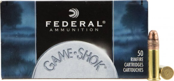 Federal 757 Game-Shok 22 WMR 50  GR Jacketed Hollow Point - 50rd Box