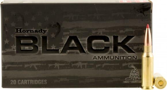 Hornady 81528 Black 6.5mm Grendel 123 GR ELD-Match - 20rd Box